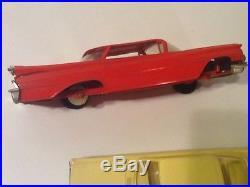Vintage 1960's Plastic Model Car Built Up Junkyard/Estate Lot + Parts AMT Jo-Han