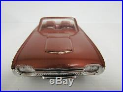 Vintage 1962 Thunderbird Roadster Convertible Promo Car Chestnut Original GB073