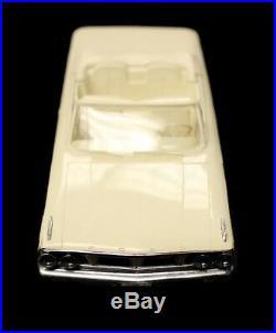 Vintage 1964 Ford Galaxie Sunliner Convertible AMT Dealer Promo Model Car
