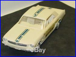 Vintage 1965 Ford Mustang Indy 500 Pace Car, Hard Top, Dealer Promo