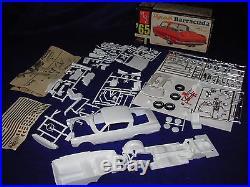 Vintage 1965 Plymouth Barracuda 1/25 Scale AMT Model Car Kit Boxed Unbuilt
