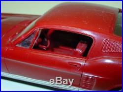 Vintage 1967 AMT Ford Mustang 2-Door Hardtop, Front Friction Dealer Promo Car