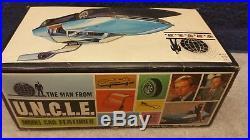 Vintage 1967 AMT NBC-TV The Man From U. N. C. L. E. Piranha 1/25 Model Kit Boxed