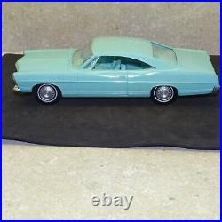 Vintage 1967 Ford Galaxie 428 Dealer Promo Car, Powder Blue
