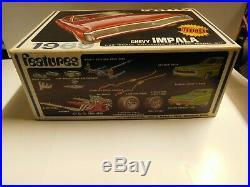 Vintage 1969 AMT CHEVY IMPALA SS Y909-200 1/25th Scale Model Kit