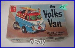 Vintage 1971 DER VOLKS VAN VW Volkswagen SHOW CAR AMT MODEL KIT Original