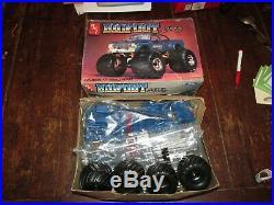 Vintage 1984 Amt Big Foot Monster Truck 4x4 Ford 1/25 #6791 Model Kit Complete