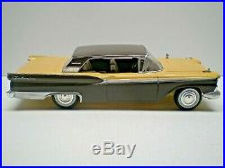 Vintage AMT1959 Ford Galaxie 500 2 dr hardtop 1/25 built model car L@@K