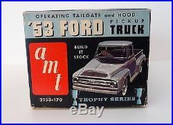 Vintage AMT 1953 George Barris Ford Truck Pickup Model Kit ORIGINAL