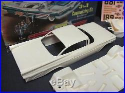 Vintage AMT 1959 Pontiac Bonneville Hdtp. Model 1/25 Scale Kit, Near Mint/Boxed