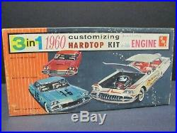 Vintage AMT 1960 Buick Invicta Hardtop 1/25 Scale Model Kit, Near Mint Condition