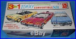 Vintage AMT 1960 Continental Convertible #44460 1/25 Scale-Model Car Swap Meet