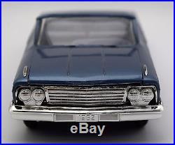 Vintage AMT 1962 Chevrolet Impala SS Convertible Car NO RSV Collection 15