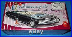 Vintage AMT 1962 Pontiac Tempest Convertible-K6012-Model Car Swap Meet