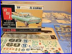 Vintage AMT 1964 Chevy El Camino with Westcraft Boat Kit