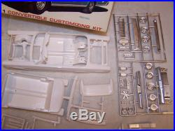 Vintage AMT 1965 Ford Galaxie Convertible Model Kit! Unbuilt