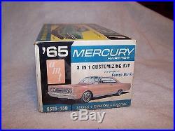 Vintage AMT 1965 Mercury Hardtop Model Kit! Unbuilt
