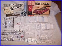Vintage AMT 1966 Chrysler Imperial Hardtop Model Kit! Unbuilt, Very nice