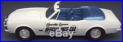 Vintage AMT 1967 Chevrolet Pace Car Camaro Promo w Dome Case NO RSV Collection 7