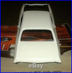 Vintage AMT 1968 Chevelle CHEVAM Annual model car VERY RARE 5628