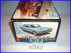Vintage AMT 1968 Chevelle CHEVAM Annual model car VERY RARE SS 396