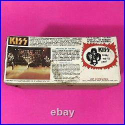 Vintage AMT 1/25 KISS Chevy Van MODEL KIT Sealed Parts Complete 1977 AUCOIN