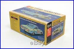 Vintage AMT 6124-200'64 Ford Galaxie 500XL Model kit UNBUILT