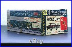 Vintage AMT'63 Mercury Marauder Fast Back Hardtop #6323-200 Plastic Model Kit