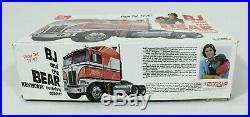Vintage AMT BJ & The Bear Kenworth Aerodyne Cabover semi truck 1/25 Model