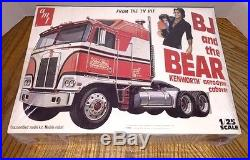 Vintage AMT BJ and the Bear Kenworth Aerodyne Model Truck Kit NEWithSEALED