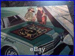 Vintage AMT Fidel Castro Havana Banana Oldsmobile 88 1/25 Model Car Kit T303 200