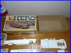 Vintage AMT Hero 1/25 1966 Chrysler Imperial Model kit Rare