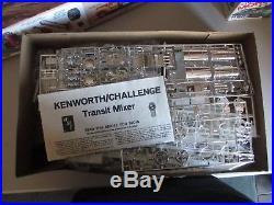 Vintage AMT Kenworth/challenge transit mixer