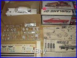 Vintage AMT Model Car Kit 1966 Ford Fairlane-GT Hardtop Original George Barris