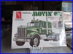 Vintage AMT Movin on 1/25 kenworth truck tractor sealed