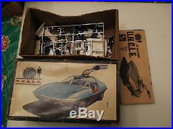 Vintage AMT PIRANHA Street & Strip and Man From Uncle Model Kits Funny Car RARE