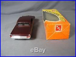 Vintage AMT Pontiac Bonneville 2D HT Friction Model Car Mint w Window Box