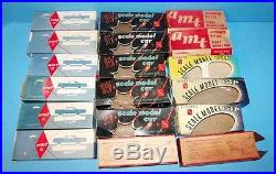 Vintage AMT Promotional Model Boxes Lot of 18 c 1954 to 1961