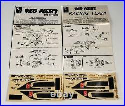 Vintage AMT Red Alert Racing Team Model Kit 1970 Chevelle Van Trailer Box T-550