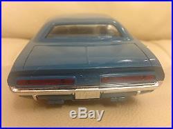 Vintage AMT SMP Dealer Promo 1971 Dodge Challenger RT Model Car Mopar 340 440