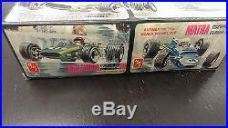 Vintage AMT #T417 Brabham lll & Matra ll Cosworth Formula 124 Double Model Kit