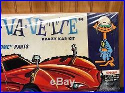 Vintage AMT VA VA Vette Krazy Kustoms Kit #902-200 Factory Sealed NOS RARE HTF