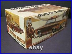 Vintage AMT Western Pickup 1966 Imperial, 1/25 Scale Model Kit, Near Mint