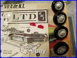 Vintage AMT X851 100 1970 Ford LTD 4Dr. HT 1969 Initial Release 125 Rare