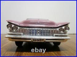 Vintage Amt 1959 Buick Invicta Craftsman Model Kit. Lido Lavender. Built. Nice