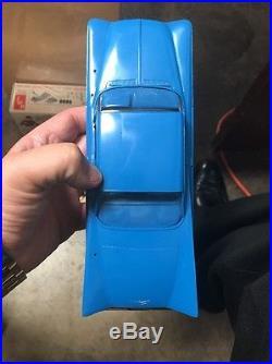 Vintage Amt 1959 Buick Invicta Hardtop 1/25 Scale Model Jr Kit Built 04-529-100