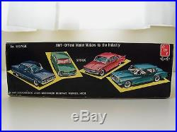 Vintage Amt 1960 Ford Falcon 3 In 1 Compact Custom Car Model Kit (complete)