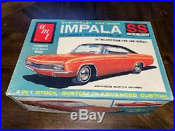Vintage Amt'65 Chevrolet Impala Ss Fastback (3-in-1) Model Kit