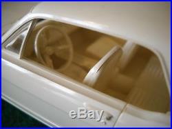 Vintage Amt Dealer Promo Model Car 1965 Ford Mustang With Box Fomoco Advertiser