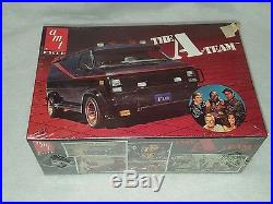 Vintage Amt Ertl The A Team Model Kit- 125 Scale 1983 Sealed New Free Shipping